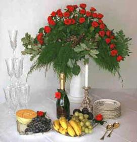 table arrangements flowers